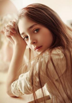 唯美迷人的美女