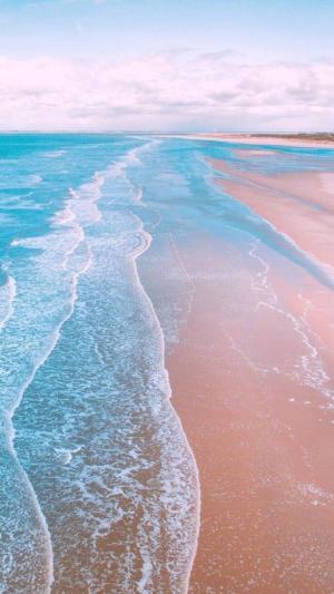 唯美迷人的沙滩风光