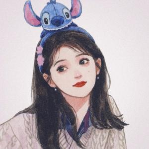 超好看的手绘女生头像