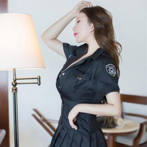[YouMi尤蜜荟]爆乳女神Egg-尤妮丝女警制服诱惑私房写真