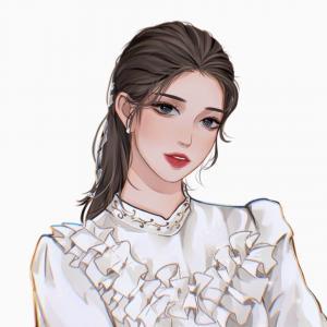 超好看又有气质的手绘女生头像