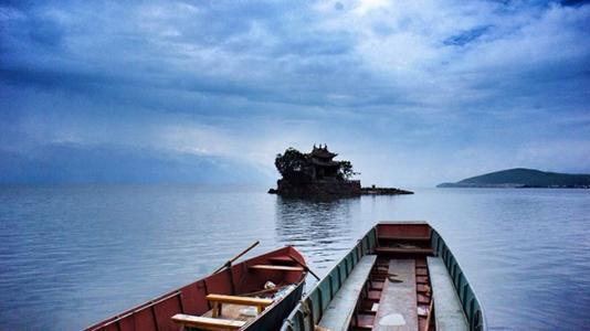 唯美丽江山水风景