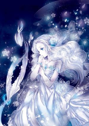 唯美蓝色梦幻意境壁纸