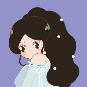迪士尼公主可爱微信Q版闺蜜头像八人一人一张
