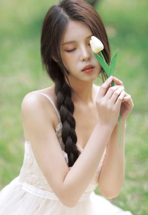 春日浪漫女神清新写真