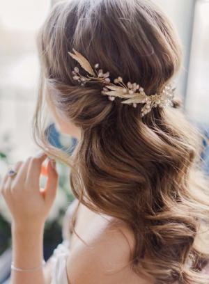美丽新娘迷人编发造型