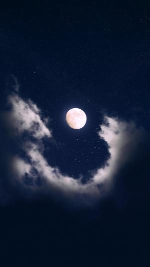 绝美的超级月亮