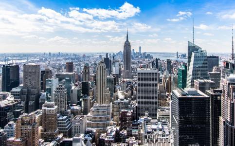 唯美城市风景图片