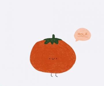 可爱手绘果蔬植物头像
