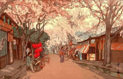 日本京都精美版画