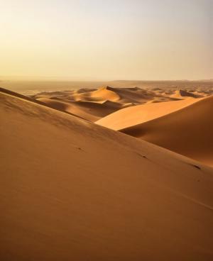 好看的沙漠风景图片