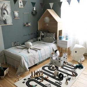 ins风儿童房简约室内家居设计