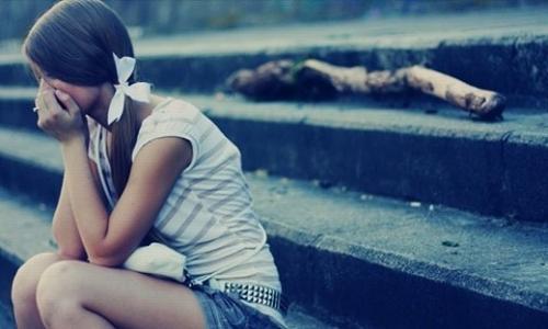 让人看到心疼的女孩