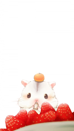 可爱萌萌哒仓鼠君
