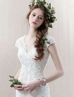欧美性感婚纱礼服