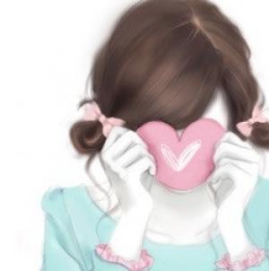 唯美可爱少女韩国女生头像