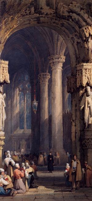 欧洲中世纪油画