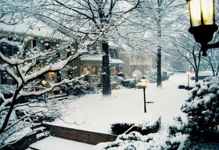 冬天的下雪优美文字