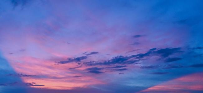 唯美无比的天空