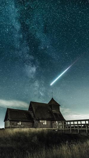 划破天际的流星