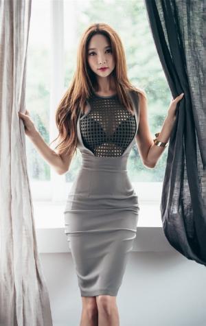 性感韩国美模妖娆身姿优雅迷人写真