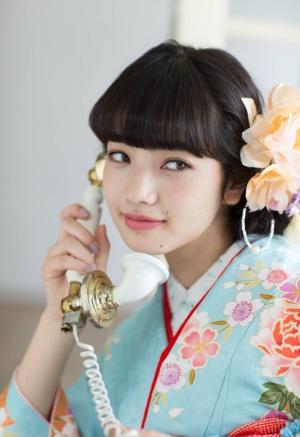 小松菜奈可爱和服写真集