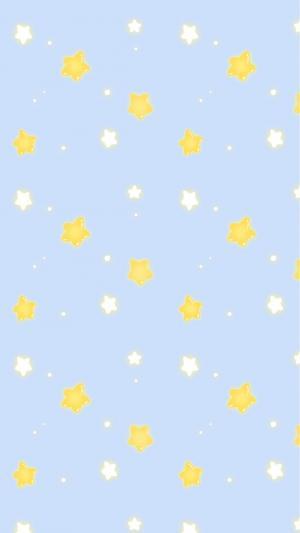 可爱星星平铺壁纸