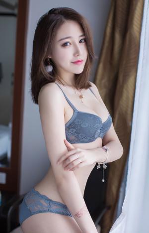 [TGOD推女神]性感女神刘奕宁36D蕾丝内衣妩媚诱惑私房写真