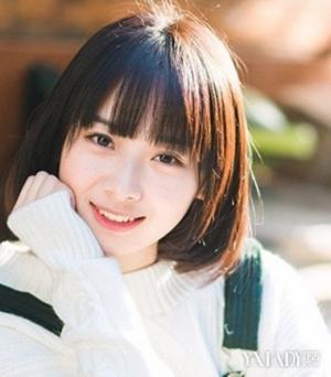短发清纯韩版女生头像