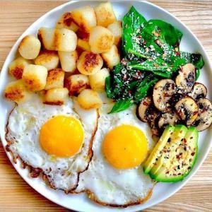 营养美味的健康早餐图片