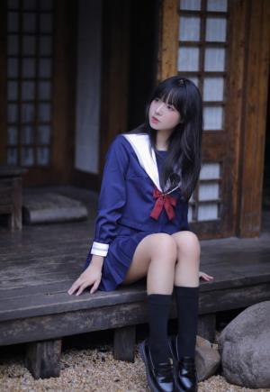 jk少女清纯可人写真