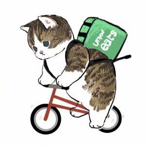 超萌手绘卡通猫咪可爱插画