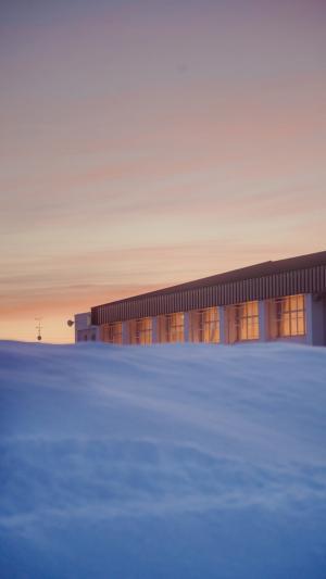 日系小清新唯美治愈冬季雪景写真