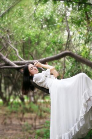 清新淡雅日系女生图片