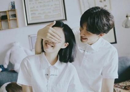 甜蜜幸福的情侣图片
