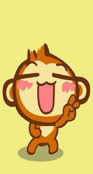 搞笑多怪的卡通嘻哈猴