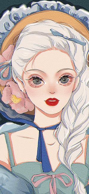 迪士尼公主插画