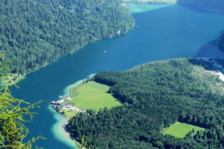 德国国王湖唯美仙境自然风光