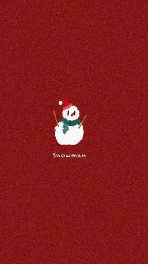 圣诞节卡通手绘