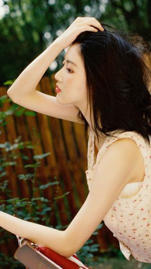夏日清新复古美少女写真