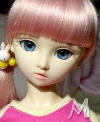可爱的大眼SD娃娃