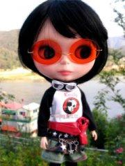 小可爱的迷糊娃娃