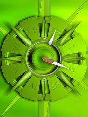 绿色欲滴的时间