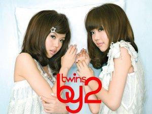 可爱的双胞胎组合BY2