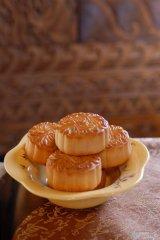 中秋节美味的月饼