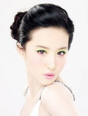 刘亦菲的可爱表情