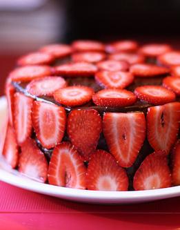 诱人的美味奶油蛋糕