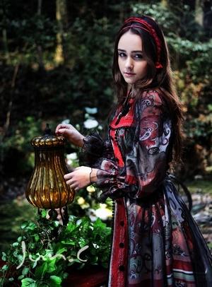 超可爱唯美森林系女生