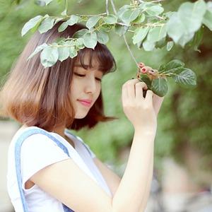 清纯美女清新可爱图片