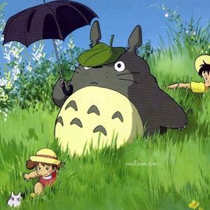 宫崎骏动画龙猫图片